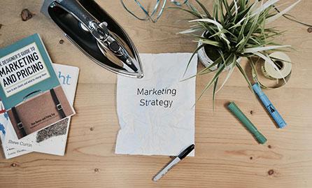 Marketing strategy mock up